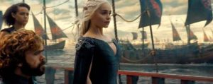 Khaleesi viaja a Poniente