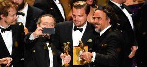 Lubezki, DiCaprio e Iñárritu en los Oscar