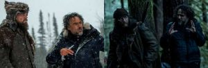 DiCaprio y Hardy; The Revenant