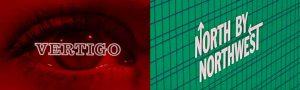 Trabajo gráfico de Bass para Vertigo & North by Northwest