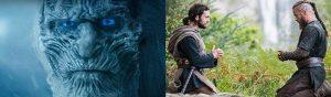 Argumento en Juego de Tronos y Vikingos