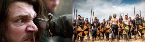 Estética de Juego de Tronos y Vikingos